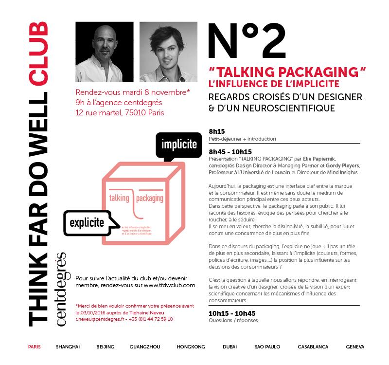 N°2 TALKING PACKAGING