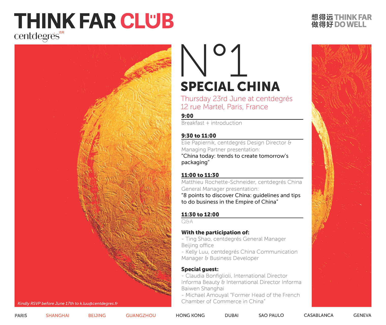 N°1 SPECIAL CHINA