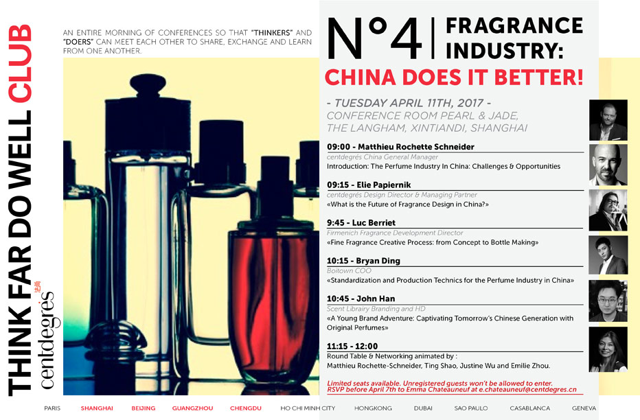 N°4: FRANGRANCE INDUSTRY ? CHINA DOES IT BETTER!