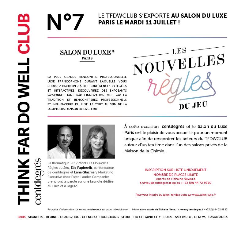 N°7: luxury & agility – Salon du luxe Paris 2017