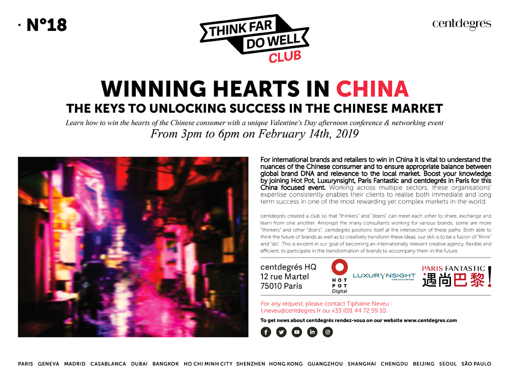 N°18: WINNING HEARTS IN CHINA